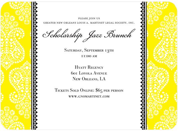 2014 Gala Invitation