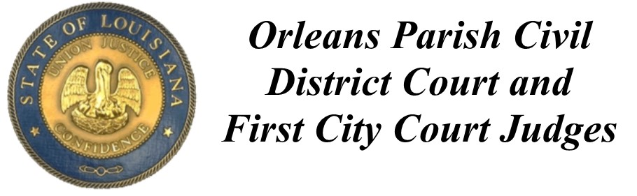 Orleans Parish Civil District Court Judges