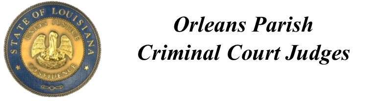 Orleans Parish Criminal Court Judges